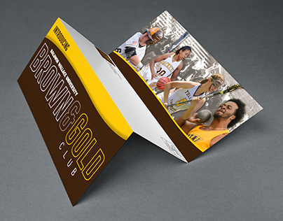 Event Design and Collateral // Brown and Gold Club
