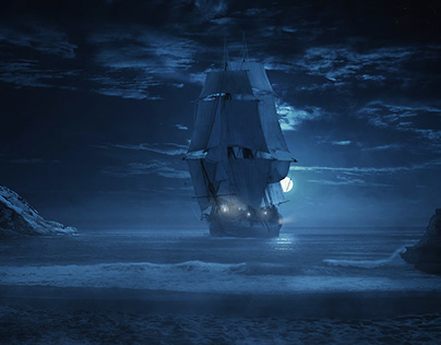 Pirates Are Coming - Digital Matte Painting