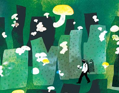 「Taberu in Eastern Taiwan」 Cover Illustration