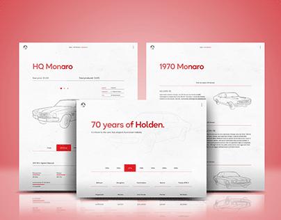 Holden Website Prototype