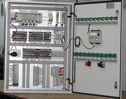 New Control panel Color Coding wiring Project Finish