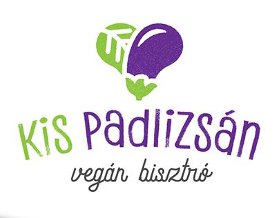 Little Aubergine vegan bistro branding concept