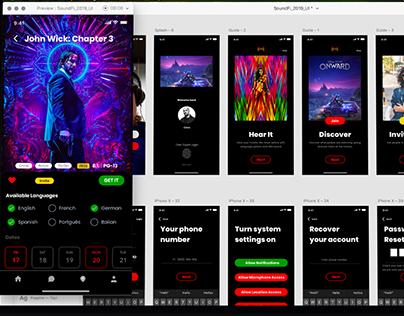 Movie App Design | UX/UI