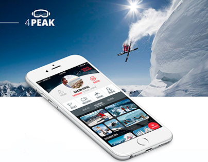4Peak - mobile tracker for skiing and snowboarding