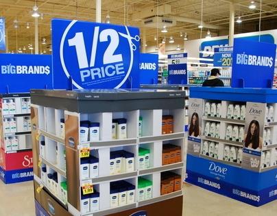 Big Brands 1/2 Price event