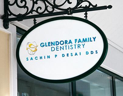 Glendora Family Dentistry Logo Redesign