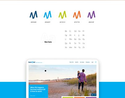 Bestmed Website Concept