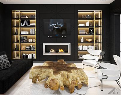 Проект квартиры в Москве 124,5 м²