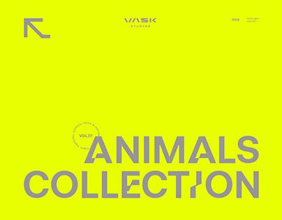 ANIMALS: logos, symbols & monograms collection