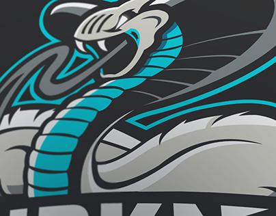 HDKN esport mascot logo