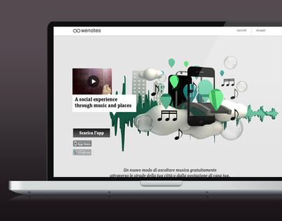Wenotes website