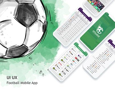 UI/UX Design for Etisalat Sport Portal | Mobile App