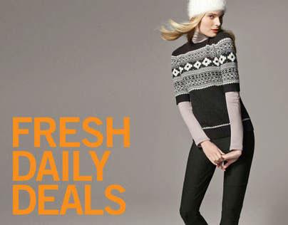 Joe Fresh Leaf Gardens Grand Opening Daily Deals