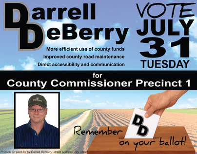 County Commissioner Campaign
