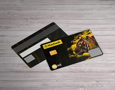 Maybank MAE   Debit Card Design   2019