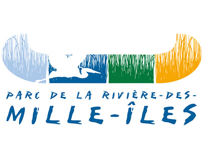 Identité visuelle: Parc de la Rivière-des-Mille-Iles