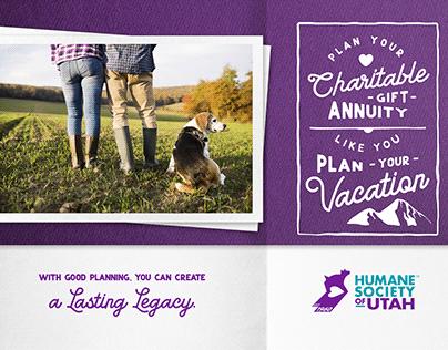 Postcard for Humane Society of Utah