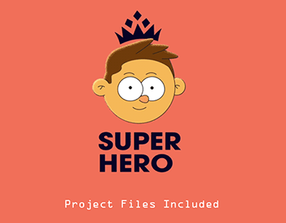 """SUPER HERO ANIMATION """"PROJECT FILE INCLUDED"""""""