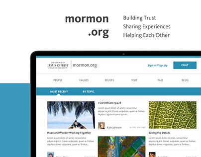 Mormon.org - Profiles