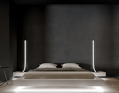 Bedroom in New York Concept House