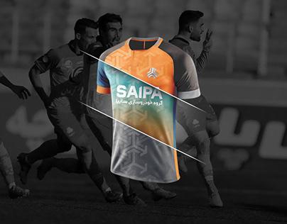 SAIPA FC Sport Kit Design
