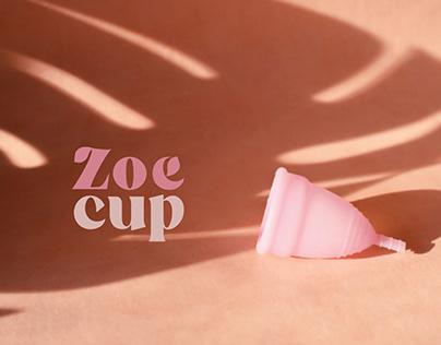 Zoe Cup Branding