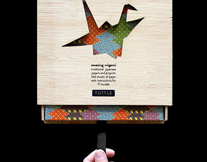 Amazing Origami – packaging design