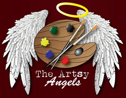The Artsy Angels - logo design