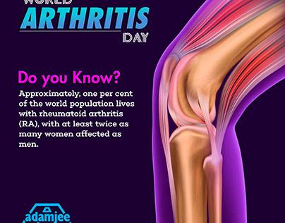 World Arthritis Day I Social Media Post