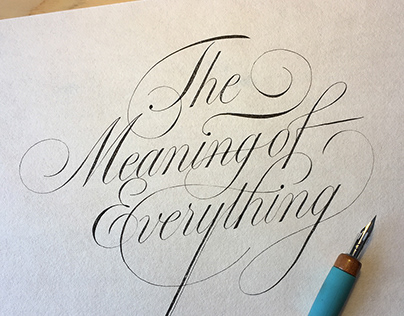"""""""The Meaning of Everything"""""""