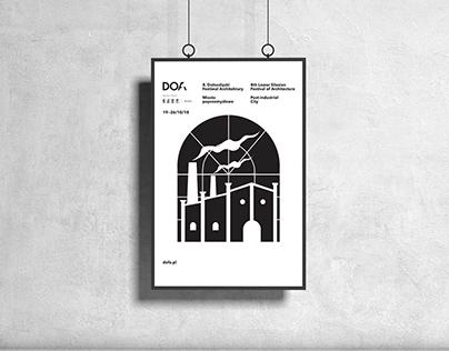 Projekt plakatu DOFA 2018