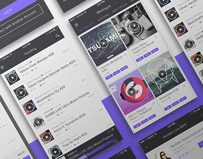 iOS App for Mikstaype