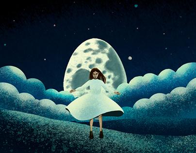 Snow lies by Alexander Vvedensky