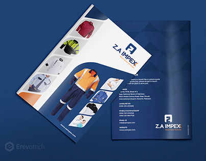 Work wear and Uniforms Products Catalogue - Z.A. Impex