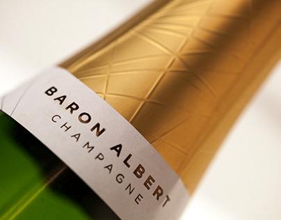 Champagne Baron Albert Branding