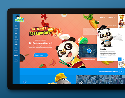 Dr. Panda Redesign