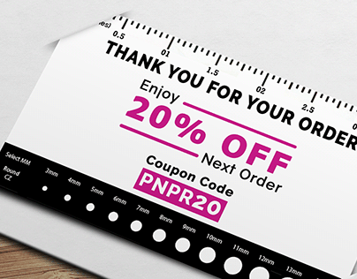 Jewelry Shop Business Card Design.