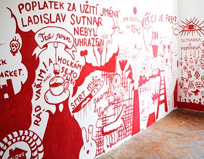 Mural painting craziness