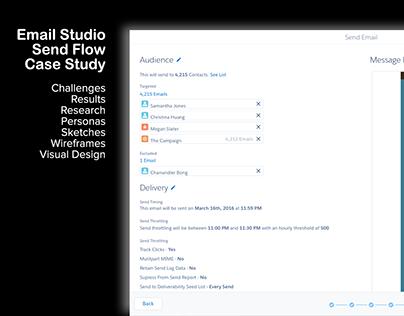 Salesforce Email Send Flow - Case Study