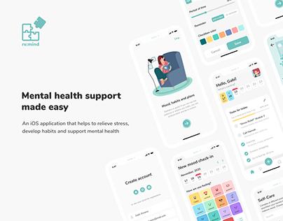 Re:mind - stress management & mental health application