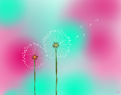 """Make a Wish"" digital art"