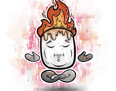 Mellow Mallow - The meditating marshmallow