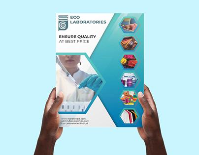 Brochure Design For Eco Lab