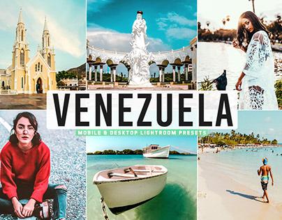 Free Venezuela Mobile & Desktop Lightroom Presets