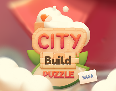 Game UI, City Build Puzzle