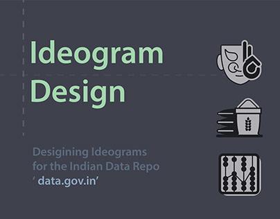 Data.gov.in - Ideogram Design