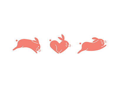 Leaping Bunny Logo Animation