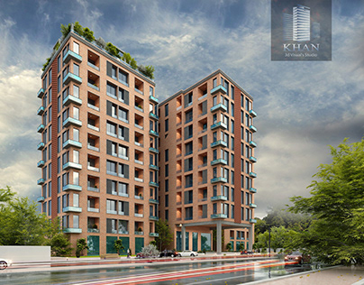 Apartments Building. Design architect: Hussain Agha