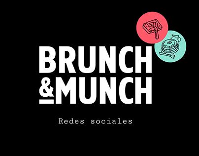 Brunch & Munch - Redes Sociales