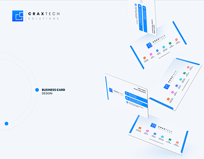logo branding for Craxtech Solutions